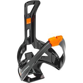 Elite Cannibal XC Bottle Holder glossy black/orange design